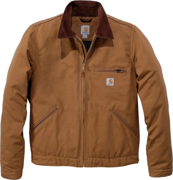 Carhartt Brown Duck Detroit Jacket