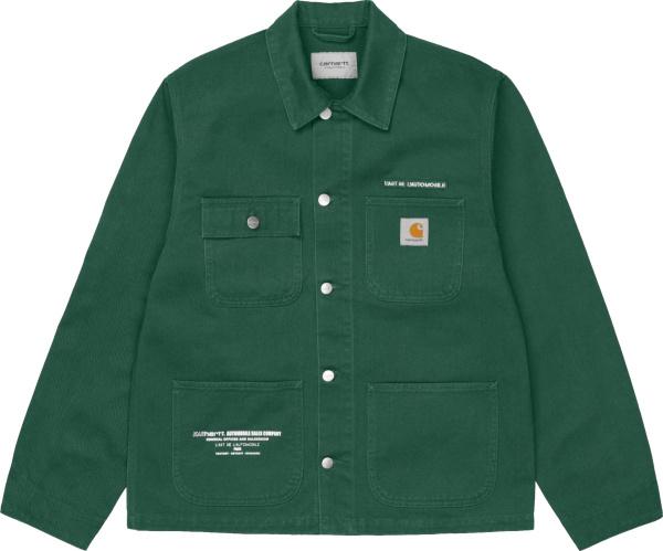 Carhartt Wip Green Karhartt Chore Jacket