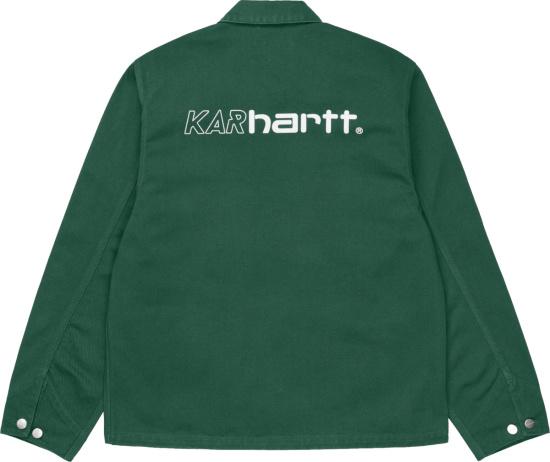 Carhartt Wip X Lart De L Automobile Green Karhartt Jacket