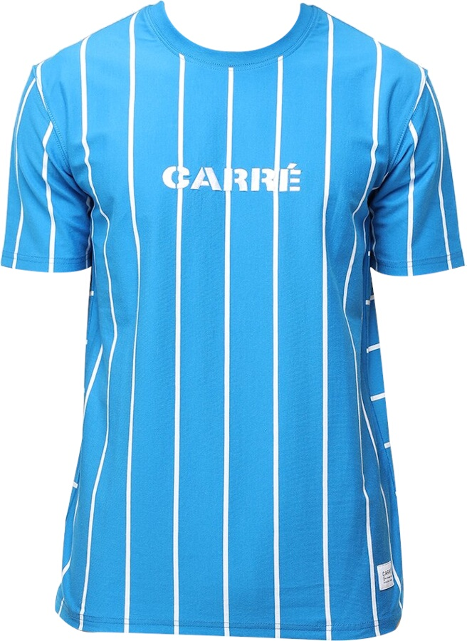 Carre Pinstripe Blue T Shirt