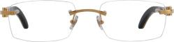 White Buffalo & Gold 'C-Decor' Glasses (CT0046O)