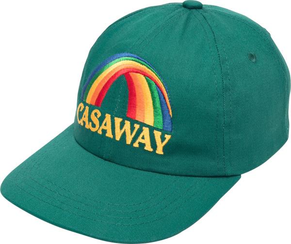 Casablanca Green And Rainbow Casaway Baseball Cap