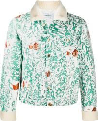Casablanca Mountain Chalet Print Jacket