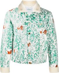 Casablanca Mountain Chalet Print Jacket