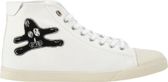 celine high top sneakers