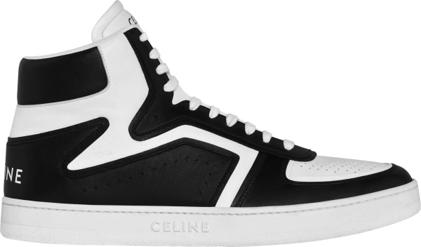 Celine Black And White Z Trainer Sneakers