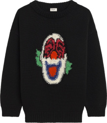 Celine Black Clown Sweater