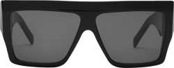 Celine Black Flat Top Sunglasses