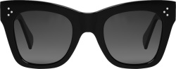 Celine Black Square Cateye Sunglasses