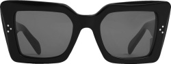 Celine Black Square Sunglasses S156