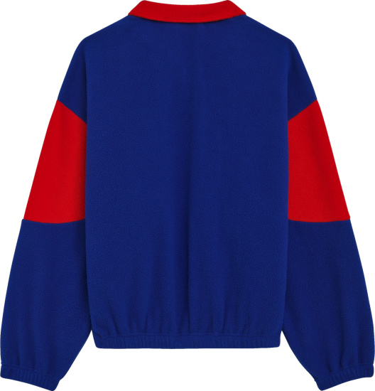 Celine Colorblock Fleece Oversized Jacket