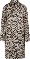 Celine Leopard Print Coat