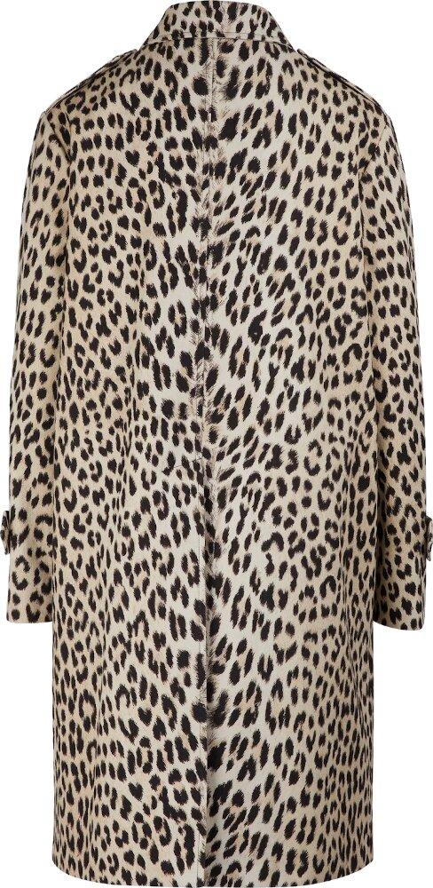 Celine Leopard Print Raincoat