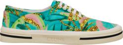 Celine X Tyson Reeder Tropical Print Sneakers