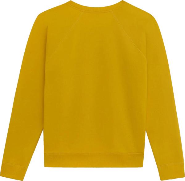 Celine Yellow Black Sweatshirt