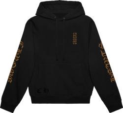 Ch Front Black Brown Hoodie