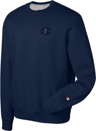 Champion 2.0 Navy Crewneck Sweatshirt