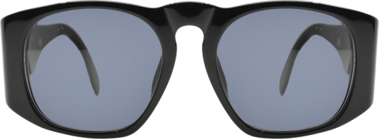 Chanel Black Quilted Oversized Sunglasses