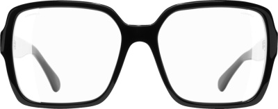 Chanel Black Square Frame Glasses