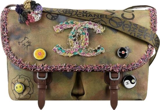 Chanel Hippie Messenger Bag