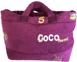 Chanel Pharrell Purple Tote