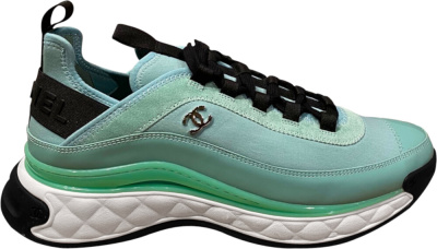 Chanel Ss20 Light Blue Sneakers