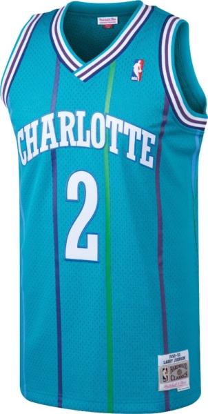 Charlotte Hornets Larry Johnson Jersey