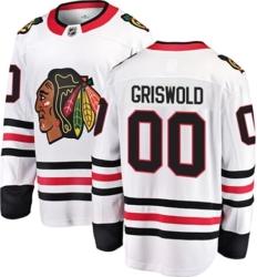 Chicago Blackhawks Clark Gridwold 00 Jersey
