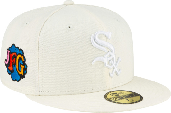 Chicago White Sox X Joe Fresh Goods Ivory Fitted Hat