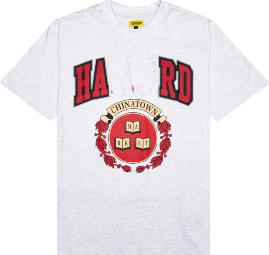 Chinatown Market Grey Harvard T Shirt