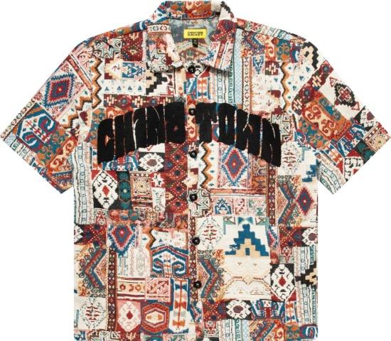 Chinatown Market Patchwork Tapestry Shirt