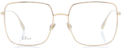 Christian Dior Diorstellaire Square Clear Lens Glasses