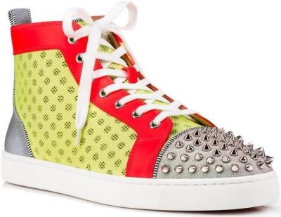 Christian Louboutin Ac Lou Spikes Orlato Flat Sneakers