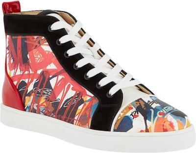 Christian Louboutin Louis Flat Serig High Top Sneakers