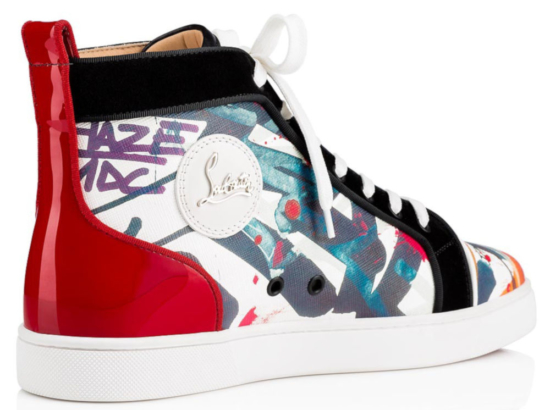 Christian Louboutin Louis Orlato High Top Sneakers Worn By Marshmellow
