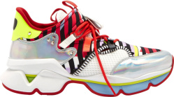 Christian Louboutin Multicolor Red Runner Donna Sneakers