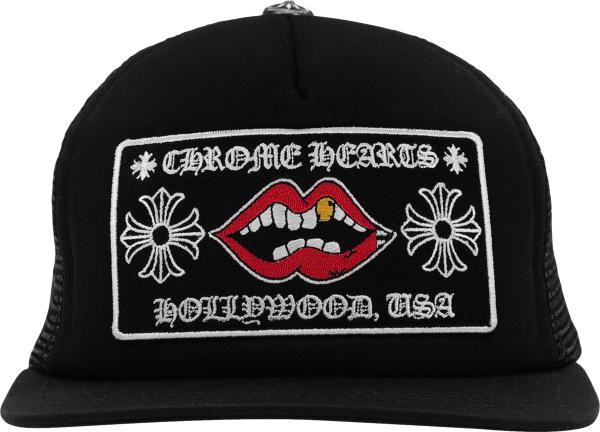 Chrom Hearts X Matty Boy Black Chonper Trucker Hat