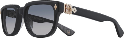 Chrome Hearts Black & Gold Sitonit Sunglasses
