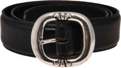 Chrome Hearts Black Gun Slinger Belt