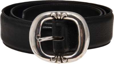 Chrome Hearts Black Gun Slinger Belt