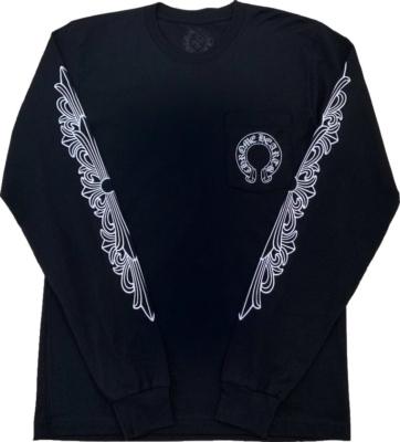 Chrome Hearts Black Long Sleeve T Shirt
