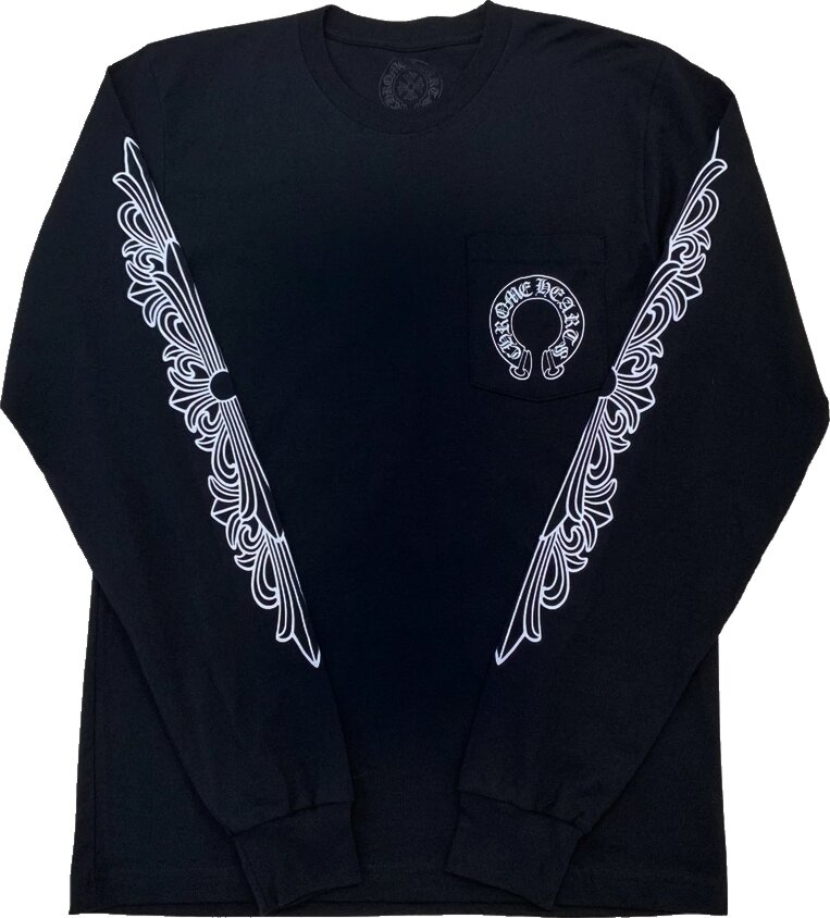 Chrome Hearts Black Long Sleeve T Shirt