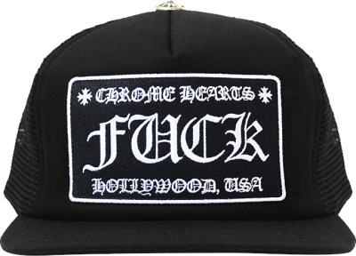 Chrome Hearts Fuck Patch Trucker Hat