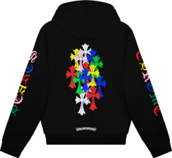 Chrome Hearts Multicolor Cross Hoodie