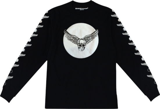 Chrome Hearts Skull Moon T Shirt