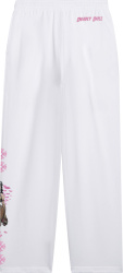 Chrome Hearts X Deadly Doll White Pinup Sweatpants (2)