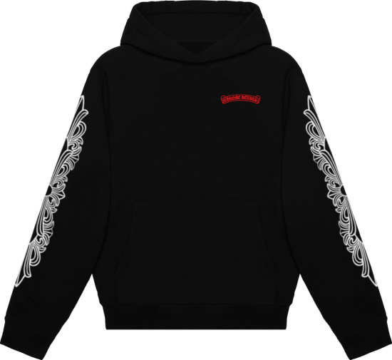 Chrome Hearts X Matty Boy Black Chomper Hoodie