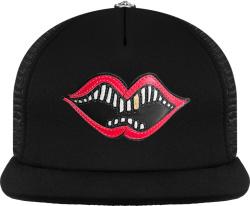 Chrome Hearts X Matty Boy Black Chomper Trucker Hat