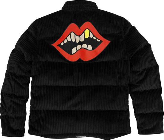 Chrome Hearts X Matty Boy Black Corduroy Puffer Jacket