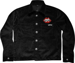 Chrome Hearts X Matty Boy Black Corduroy Shirt Jacket
